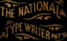 National Typewriter Logo