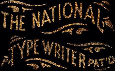 National Typewriter Logo
