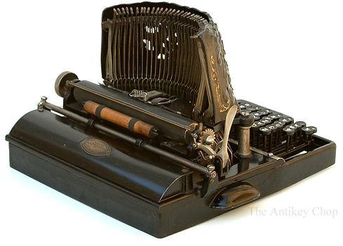 Bar-Lock Typewriter