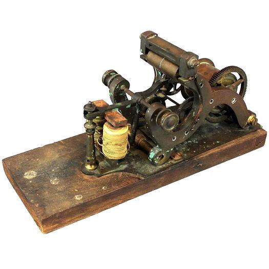 J.W. Norton Telegraph Register