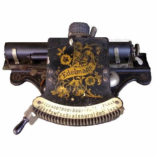 Edelmann Typewriter Schreibmaschine