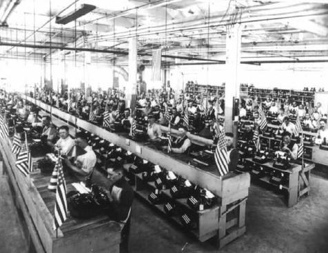 Oliver Typewriter Factory Testing Room