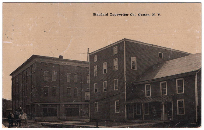 Standard Typewriter Company Factory