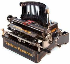 Salter Standard No.10 Typewriter from AntikeyChop.com