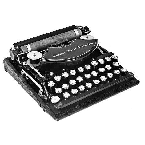 American Pocket Typrwriter