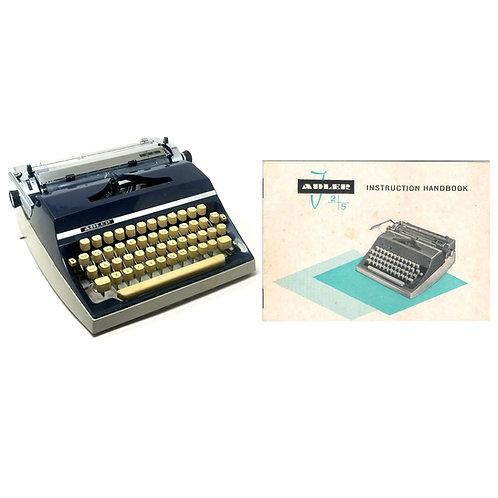 Adler J5 Typewriter Instruction Manual