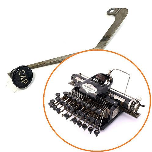 Blickensderfer No.5 Typewriter CAP Lock Key Assembly Part