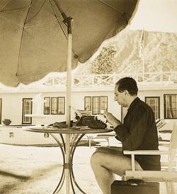 Composer Aaron Copland