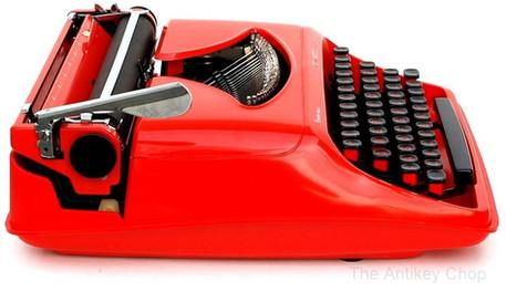 Remington Starfire Typewriter from AntikeyChop.com