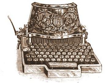 Bar Lock No.1 Typewriter