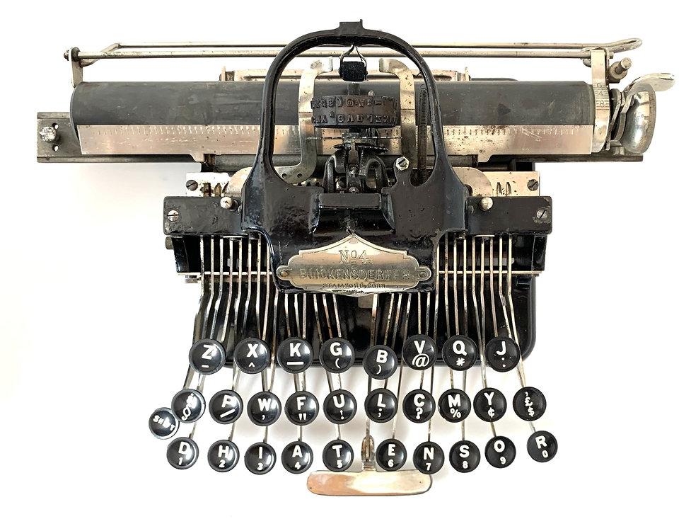 Blickensderfer No.4 Typewriter