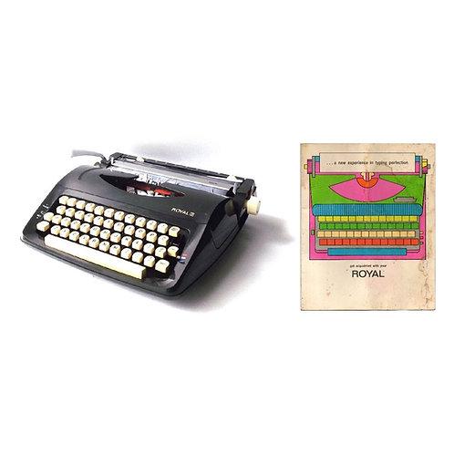 Royal Lark Typewriter Instruction Manual