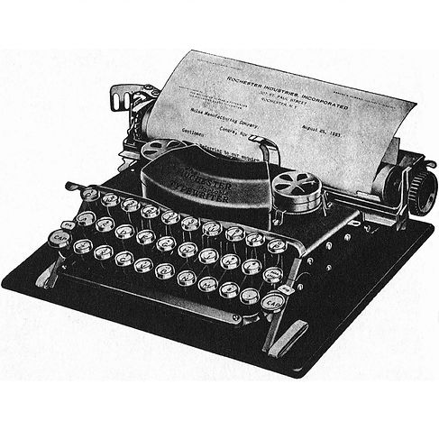 The Rochester Portable Typewriter