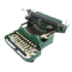 Green Corona Special No.3 Folding Typewriter