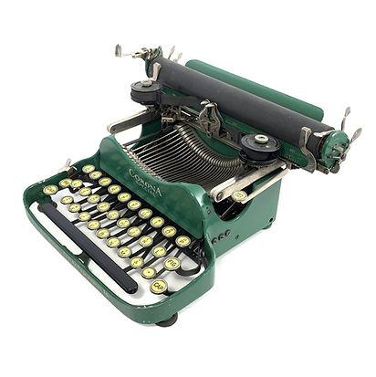 Green Corona Special No.3 Folding Typewriter