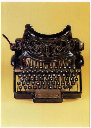 Bar-Lock no.1 Typewriter
