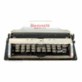 Bennett Typewriter