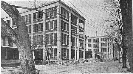 Corona Typewriter Factory Construction 1916