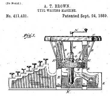 Smith Premier No.1 Typewriter Patent