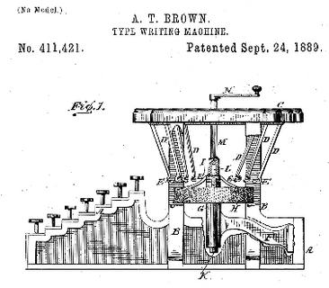 Smith Premier No.1 Typewriter Patent