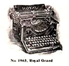 Royal Grand Typewriter