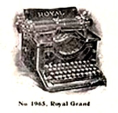 Royal Grand Typewriter