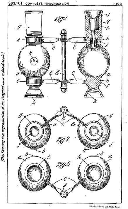 Oculizer Patent
