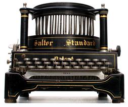 Salter Standard No.6 Typewriter from AntikeyChop.com