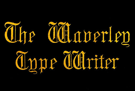The Waverley Typewriter