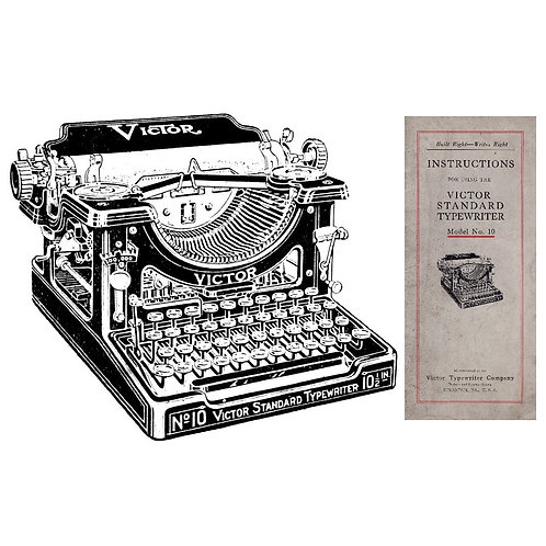 Victor No.10 Typewriter Instruction Manual
