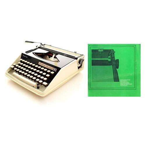 Remington Monarch 2 Typewriter Instruction Manual