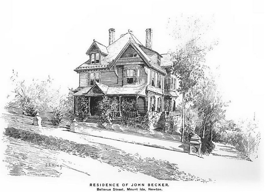 John Becker Home in Newton Mass