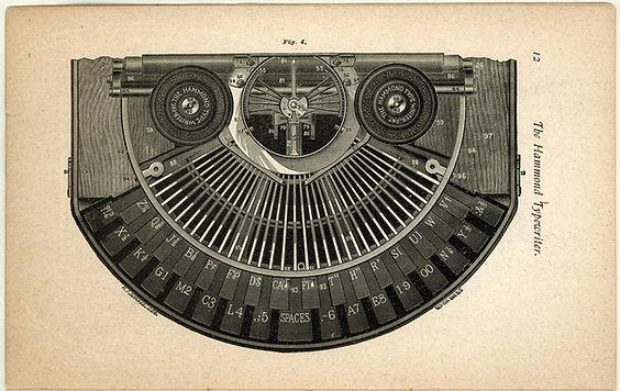 Hammond Typewriter Keyboard