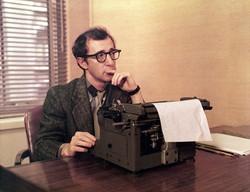 Humorist Woody Allen