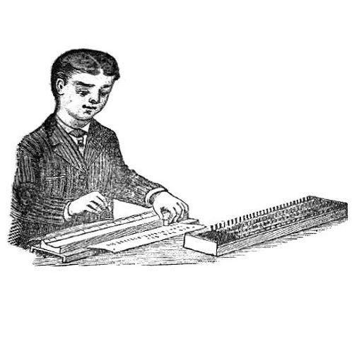 Golden Rule Typewriter