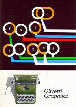 Olivetti Graphika Advertising Poster