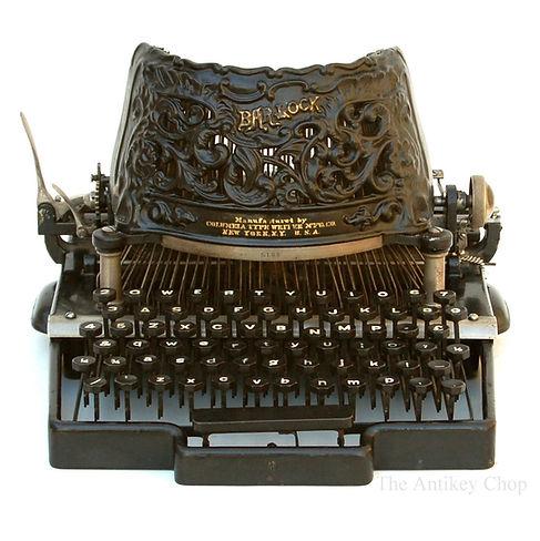 Bar-Lock No.2 Typewriter