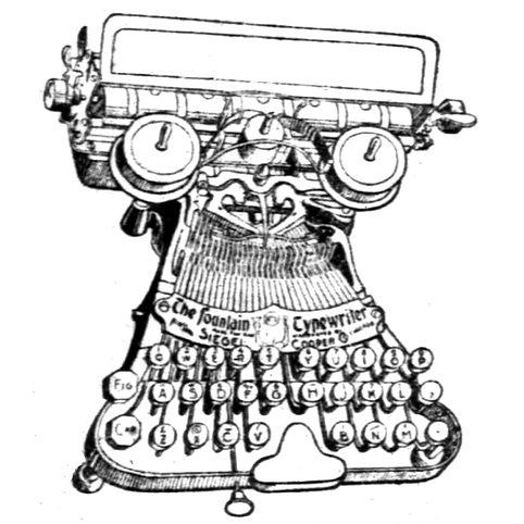 The Fountain Typewriter