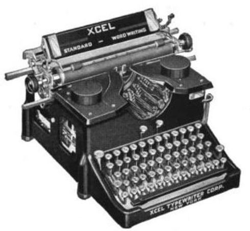 Xcel Typewriter