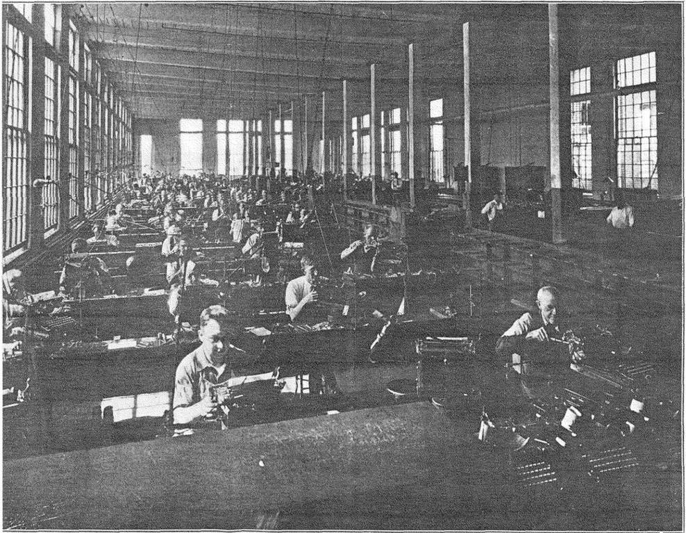 Inside the Royal Typewriter Factory