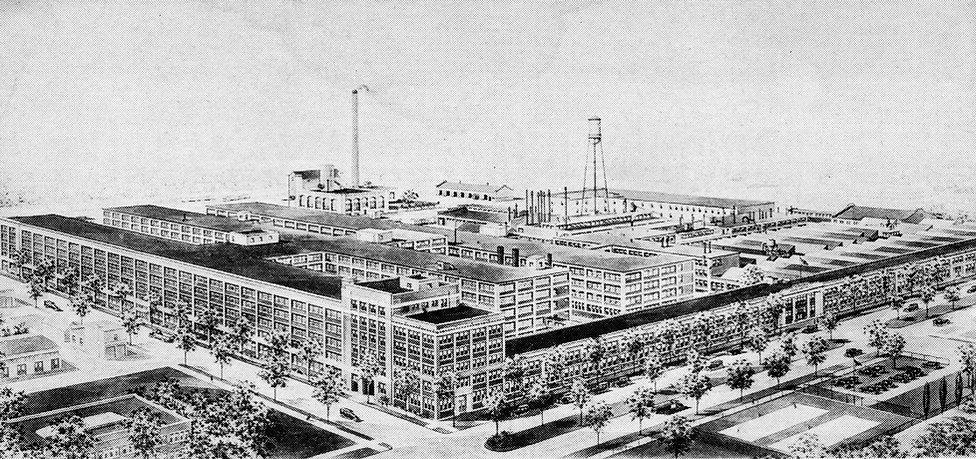 Burroughs Adding Machine Company Factory