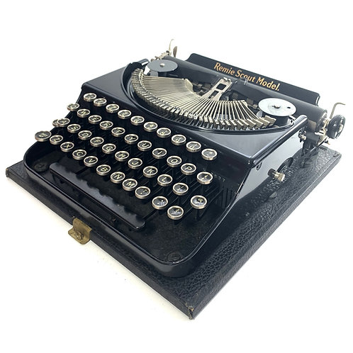 Restored Remington Remie Scout Model Portable Typewriter