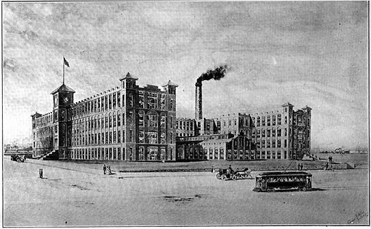Royal Typewriter Factory First Wing Completed Winter 1907