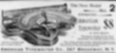 American Typewriter Ad