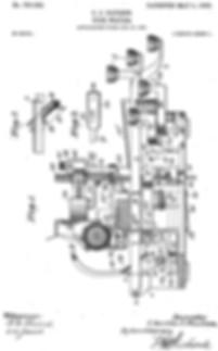 Eagle Defi Sterling Typewirter Patent