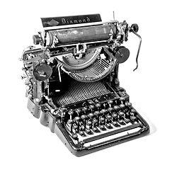 Sholes Diamond Typewriter