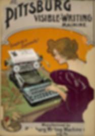 Pittsburg Typewriter Poster