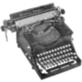 Broadway Standard Typewriter
