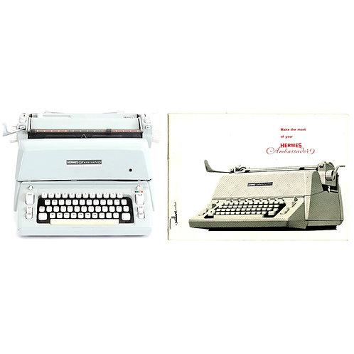 Hermes Ambassador Typewriter Instruction Manual