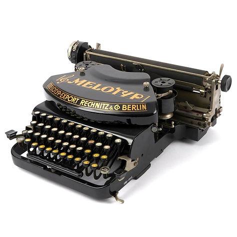 Melotyp Music Typewriter at London Scien